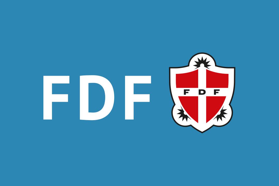 FDF navn og logo