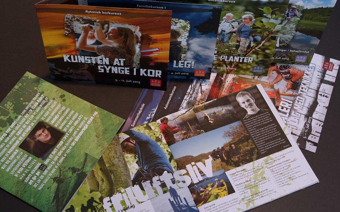Website og grafisk stil for Silkeborg Højskole