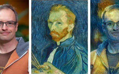 Fra foto til van Gogh – sådan da…