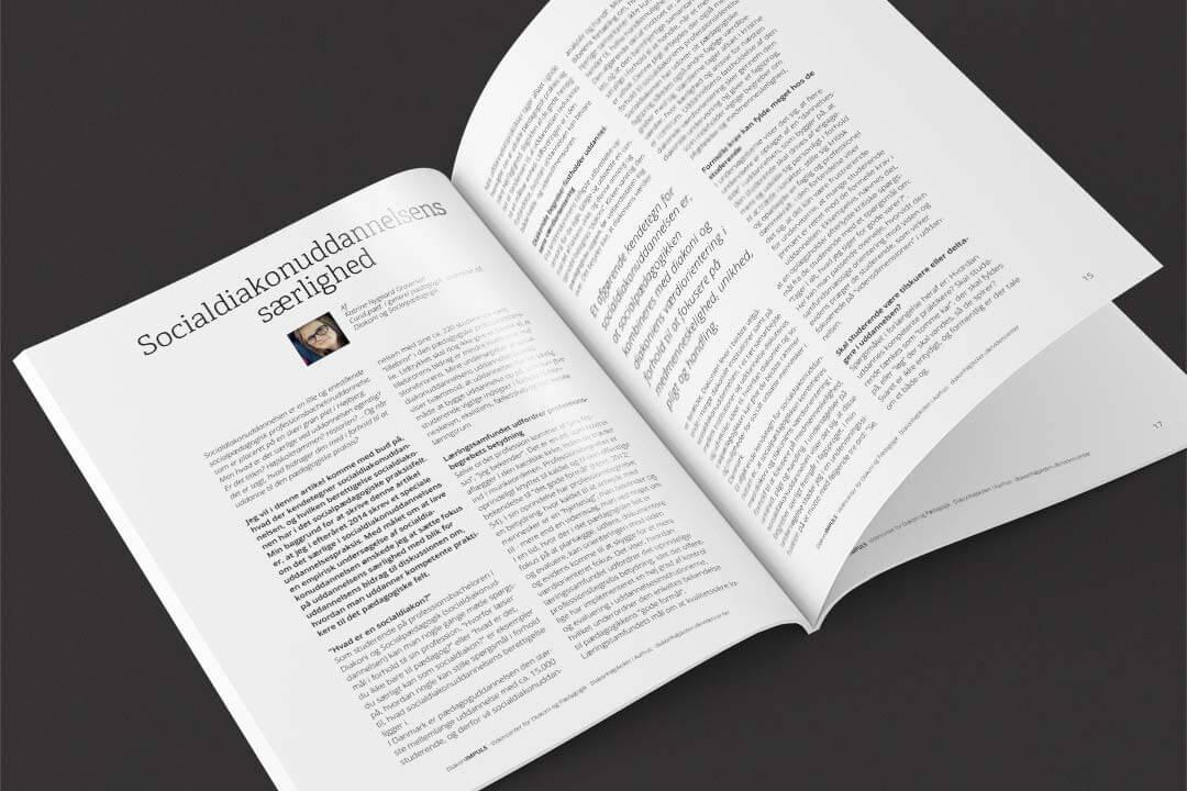 Opslag i tidsskriftet Diakoni-IMPULS