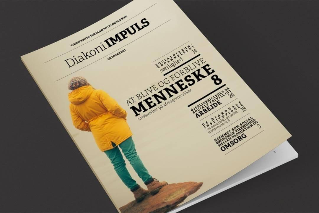 Tidsskriftet Diakoni-IMPULS fra Diakonhøjskolen